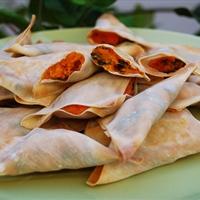 Crisp Caribbean Veggie Wraps
