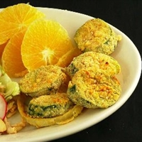 Crispy Zucchini Coins