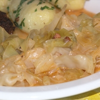 "Croatian cabbage stew (""prisiljeno zelje"")"