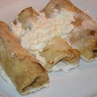Croatian cheese pancakes (Crepes)