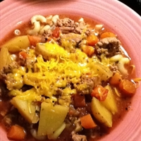 Crock-pot Hamburger Soup