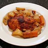 Crockpot Chicken Dinner