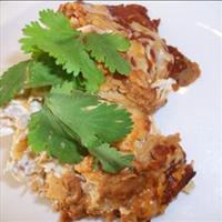 Crockpot Enchilada Stack