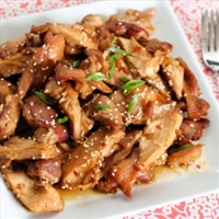 Crockpot Honey Bourbon Chicken