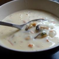 Crockpot Seafood Chowder