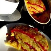 Crockpot Western Omelet Casserole