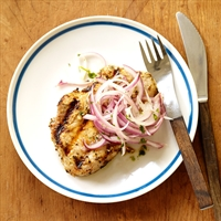 Cuban Grilled Pork with Lime-Marinated Onions* 5Pts