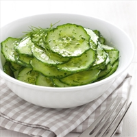 Cucumber-Sesame Salad