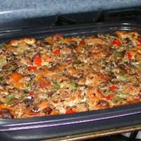 Dad's Wakeup Makeup Breakfast Casserole