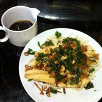 Deep-fried Sea Bass with Chili Sauce