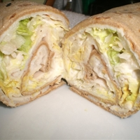 Delicious Turkey Wrap