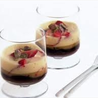 Desert - Spicy Zabaglione with Strawberries and Chocolate