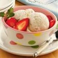 Dessert - French Vanilla Ice Cream
