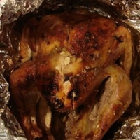 Dorothy's Garlic roast Turkey