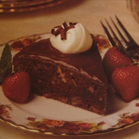 Double Decadent Brownie Torte