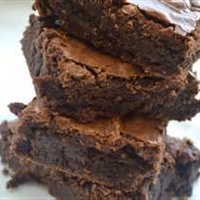 Double Fudge Saucepan Brownies