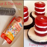 dr seuss cookie hats