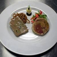 Duck And Smoked Foie Gras Terrine