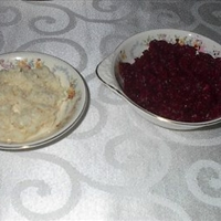 Easter Horseradish and Beets