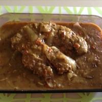 Golden Mushroom Pot Roast