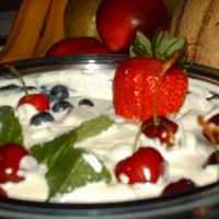 Easy Cherry Cheese Dessert