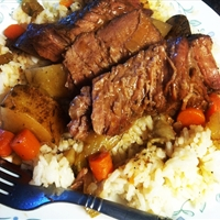 Easy Crockpot Chuck Roast