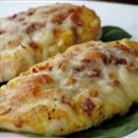 Easy Honey Mustard Mozzarella Chicken