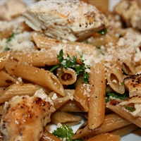 Easy Lemon Pasta with Chicken
