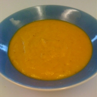 Easy Tangy Butternut Squash Soup