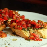 Easy Tomato Bruschetta