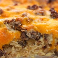 Egg and Sausage Casserole (Christmas Breakfast)