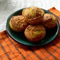 Eggless Corn Muffins
