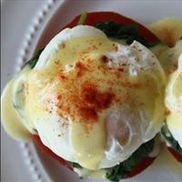 Healthier Eggs Benedict