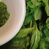 Eleyna's Spinach Basil Pesto