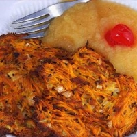 Elisas Almost Fat-free Potato Latkes