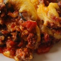 Enchilada Casserole in the Crockpot
