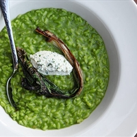 Extra-Rampy Ramp Risotto