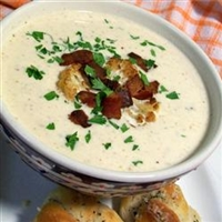Fabulous Roasted Cauliflower Soup
