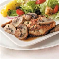 Reduced Fat Chicken Marsala
