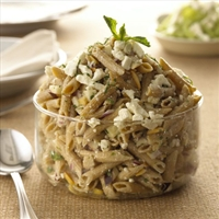 Fat Free Feta Pasta Salad with Apples
