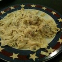 Fettucine Alfredo