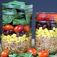 Fiesta Quinoa Salad-In-A-Jar