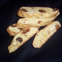 Fig and Macadamia Biscotti