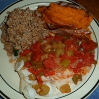 Fish fillets Creole style