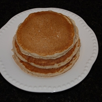 Fluffy Homemade Pancakes