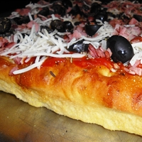 Focaccia Pizza