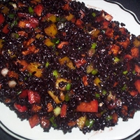 Forbidden Black Rice Salad