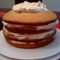 Four-layer Pumpkin Cake