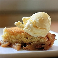 French Apple Cobbler