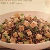 French Lentils with Celery Root and Parsley